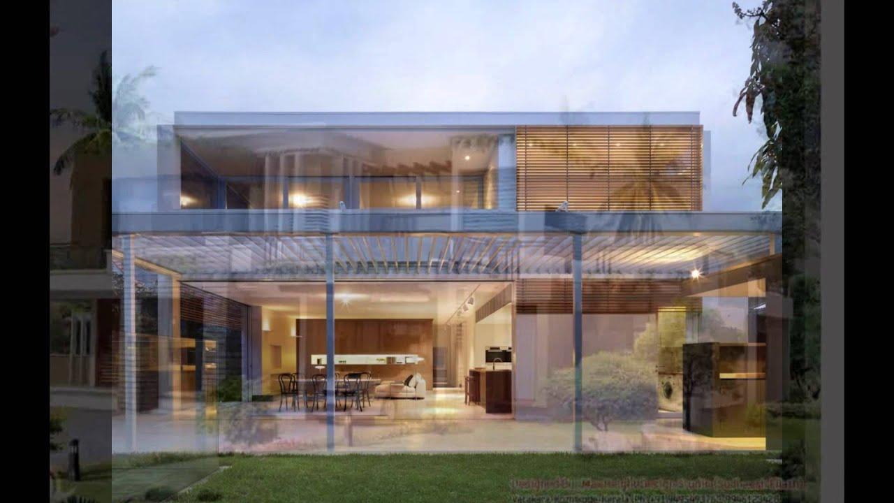contemporary house designs - YouTube