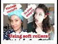 Soft Rollers Tutorial: Vintage curls in your sleep!