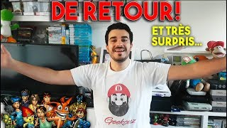 DE RETOUR EN FRANCE...ET TRÈS SURPRIS ! (Vos cadeaux jeux vidéo)