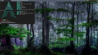 awesome desktop arch linux