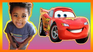 Pretend Play Toy Cars Lightning McQueen Fun Kids Game 🚗😜