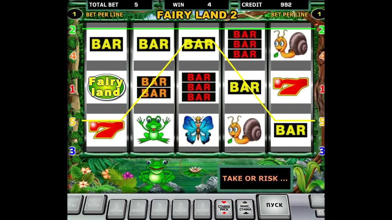 Скачать игровой автомат fairy land 3