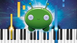 Final Space - Theme Song - EASY Piano Tutorial
