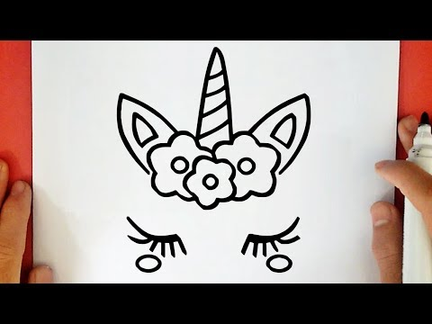 Comment Dessiner Une Licorne Kawaii Youtube