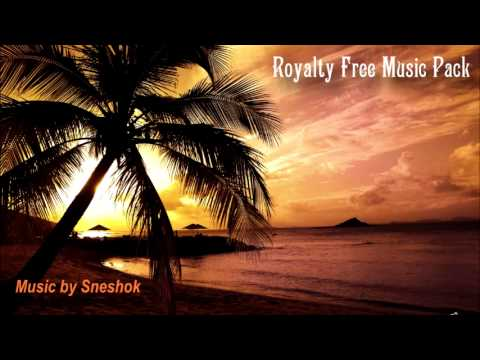 ROYALTY-FREE MUSIC - Chillout Mix - 8 tracks in one pack!