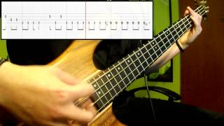 Queen - Under Pressure (Bass Cover) (Play Along Tabs In Video)