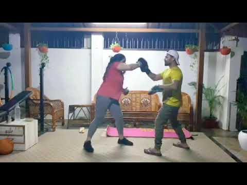 GIRLS MARTIAL ART TRAINING LUCKNOW INDIA