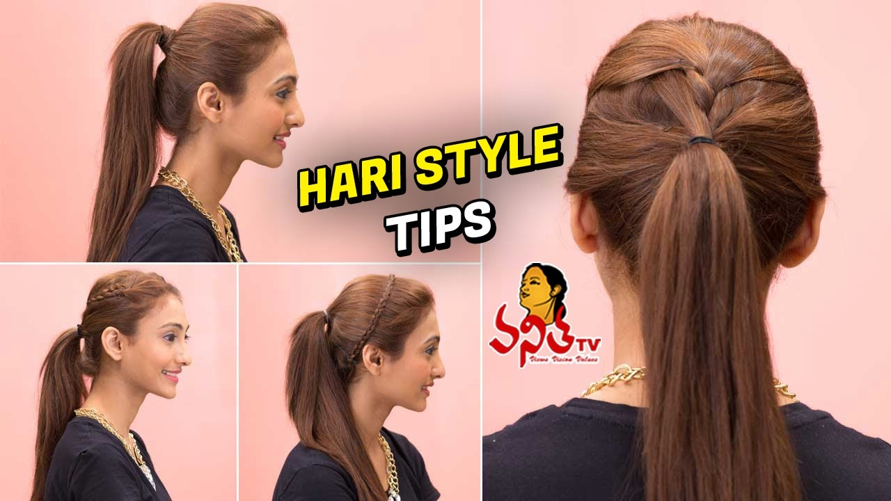 Easy Hairstyle Tips For Long And Short Hair || Beauty Tips ...