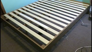 """How to assemble a Zinus 12"""" deluxe wood platform bed frame"""