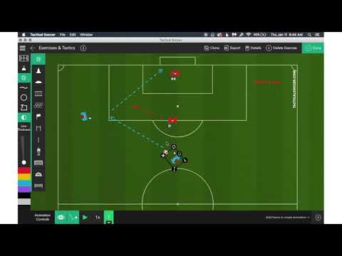 Tactical Soccer - Complete suite for soccer coaches