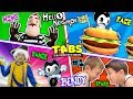 TABS PETITION! Mart Stole Bendys Cat! FGTEEV Hello Neighbor BT Story Pt 1 BL INK MACHINE