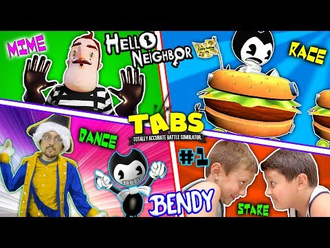 Thumbnail: HELLO NEIGHBOR BEDTIME STORY! Mart Stole Bendys Cat! (FGTEEV TABS Competition Pt 1: BL- INK MACHINE)