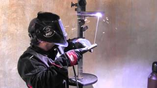 Stick Welding Tips for a 4g Overhead Weld Test thumbnail