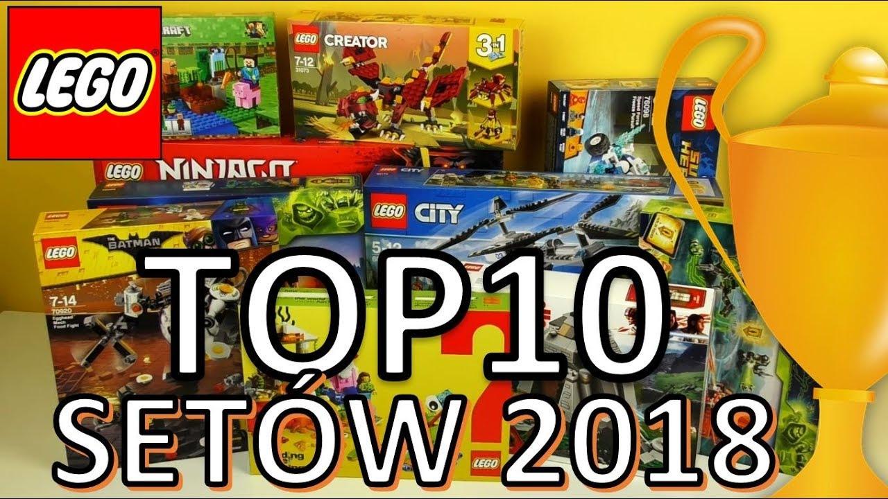 Top 10 Lego Zestawów 2018 Vlog Youtube