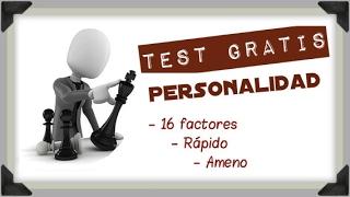 Test de Personalidad Gratis Online (16PF)