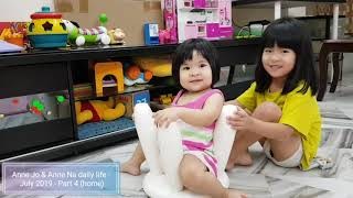 Anne Jo & Anne Na daily life - July 2019 - Part 4 (home)