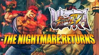 THE NIGHTMARE RETURNS: Evil Ryu - Ultra Street Fighter 4 Online