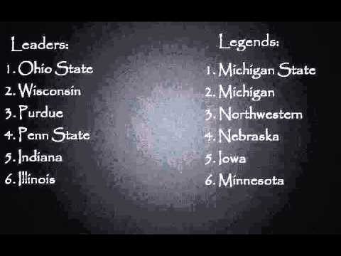 RBT's 2013 Big 10 (B1G) Conference Preview & Predictions - College Football