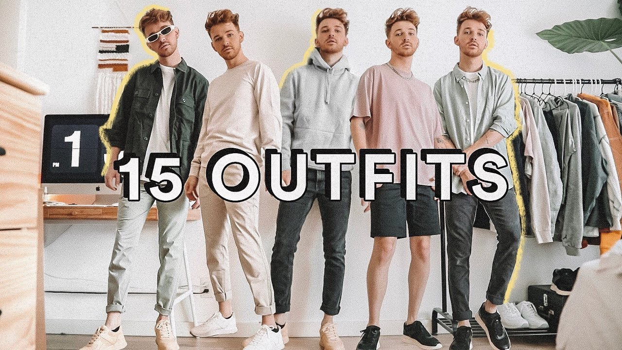 [VIDEO] – 15 MINIMAL EASY OUTFIT IDEAS FOR MEN 👕