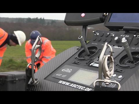 Leak seeker:  Anglian Water using drones to find broken pipes