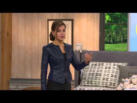 "Serta Superlative 12.5"" Pillowtop TW Mattress w/ Bonus Boxspring with Lisa Robertson"