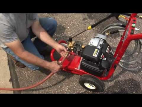 Northstar Pressure Washer 3000 Psi 2 5 Gpm Youtube