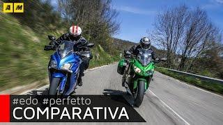 Kawasaki Z1000SX vs Suzuki GSX-S 1000F: test Moto.it