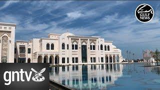 Inside the Abu Dhabi Presidential Palace