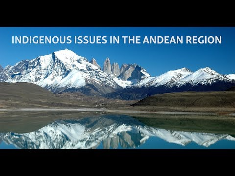 Western Hemisphere Security Forum II: Indigenous Issues in the Andean Region