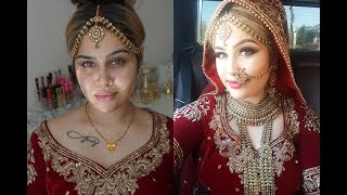 Wedding Makeup - Indian Bridal | Meenal Garib