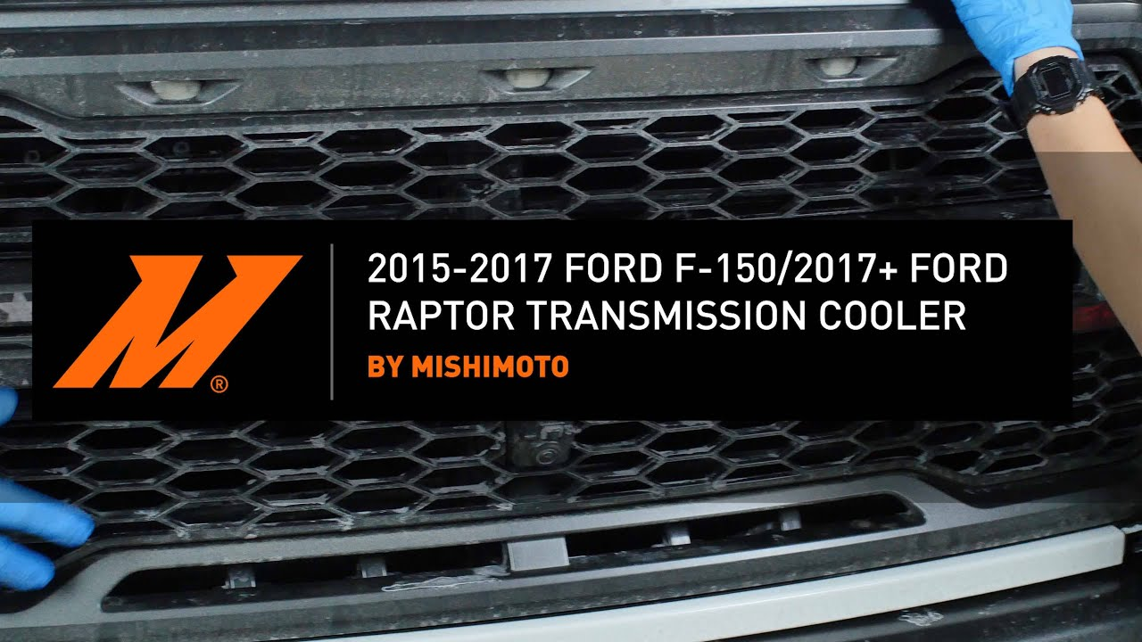 2015+ Ford F-150/Raptor Transmission Cooler Installation Guide by