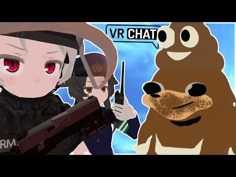 [VRChat] ATTACK OF THE POO POO KNUCKLES + INSANE LOLI ARMY AVATARS! (SO COOL!)