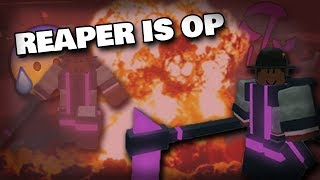 REAPER IS OP | ROBLOX CRITICAL STRIKE
