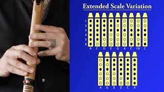 Native American Flute Extended Scale Variation