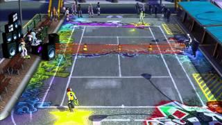 SEGA Superstars Tennis: Beat vs Gum (Jet Set Radio Court) [1080 HD]