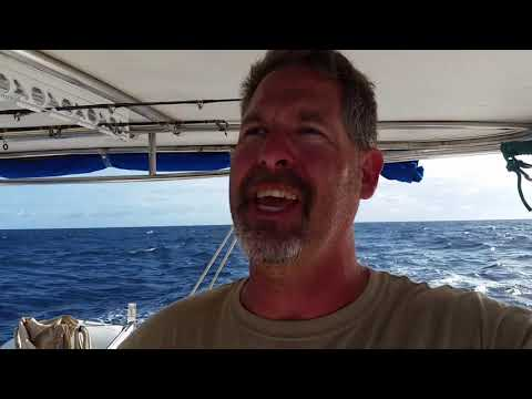 The Cruising Life goes offshore as we sail from Grenada to Puerto Rico
