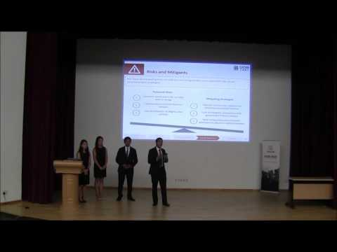 UOB-NUS International Case Competition 2016 Finals: University of California, Berkeley