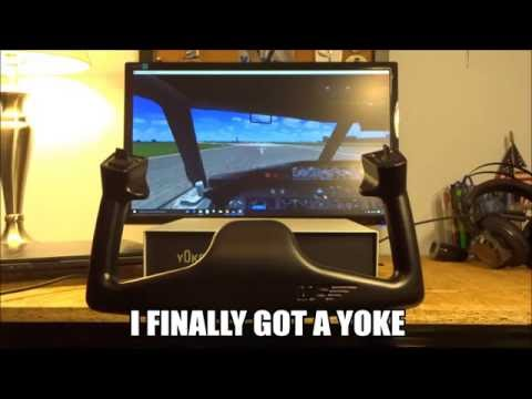 I FINALLY GOT A YOKE! VirtualFly YOKO Review (Testing in FSX)