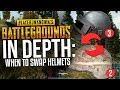 PUBG In Depth: When To Swap Helmets (& Armor Guide) (PLAYERUNKNOWN'S BATTLEGROUNDS)