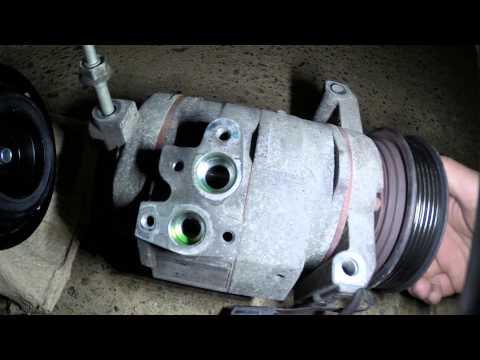 Changement compresseur de climatisation auto