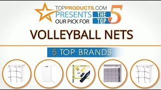 Best Volleyball Net Reviews 2017 – How to Choose the Best Volleyball Net