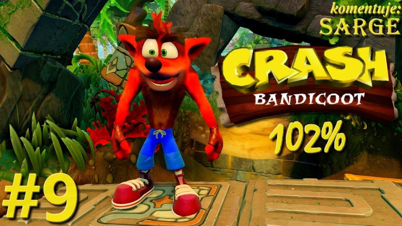 Zagrajmy w Crash Bandicoot PS4 Remake (102%) odc. 9 – Czasówki