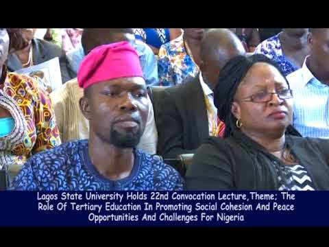 LAGOS STATE UNIVERSITY HOLDS 22ND CONVOCATION