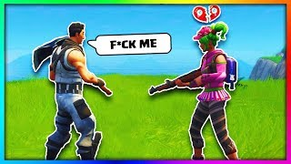 Kid Gets Banned After Saying This... Fortnite Battle Royale