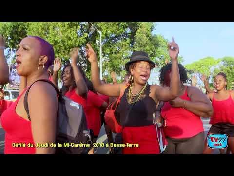 Carnaval MI CAREME 2018 à Basse-Terre