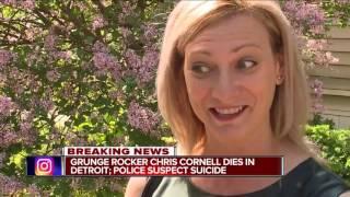 Chris Cornell dies in Detroit