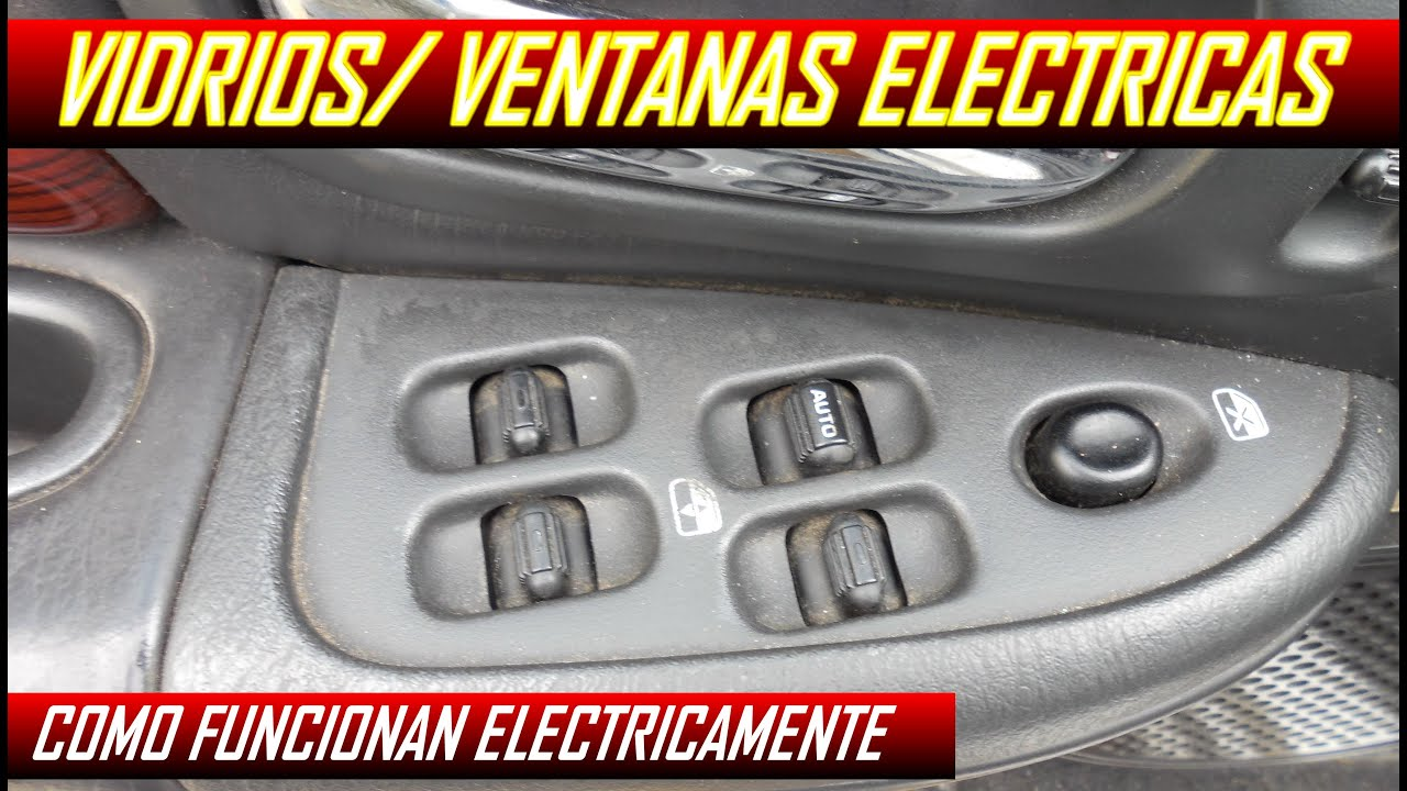 Circuito Levanta Vidrios Electricos : Diagrama de vidrios electricos como funcionan