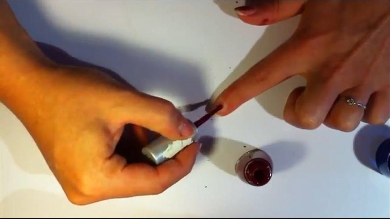 Getrockneten Nagellack wieder flüssig machen - Beauty Tipps - YouTube