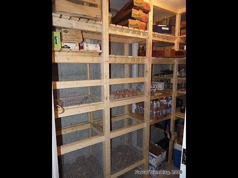 Cold Storage Room In Basement - Building Guide Design Idea & Cold Storage Room In Basement - Building Guide Design Idea - YouTube