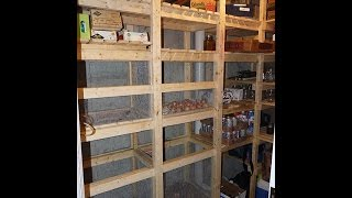 Cold Storage Room In Basement - Building Guide